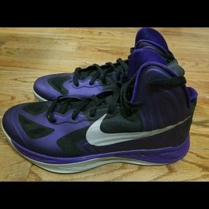 Nike Hyperfuse Sneakers Basketball Shoes Purple 10